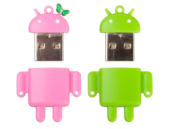 Android Robot USB Card Reader