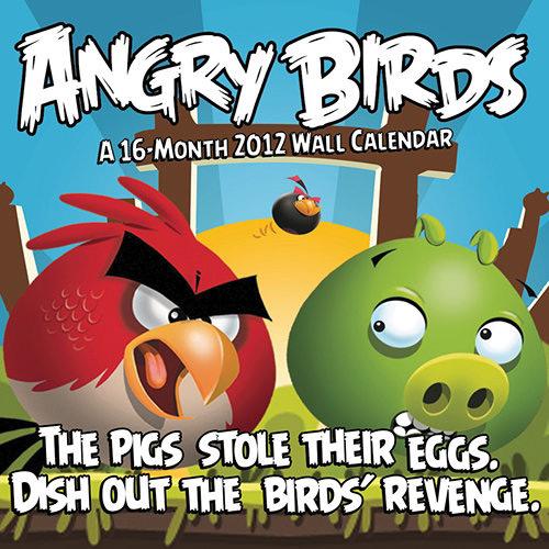 Angry Birds Calendar 2012