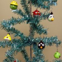 Angry Birds Christmas Tree Ornaments