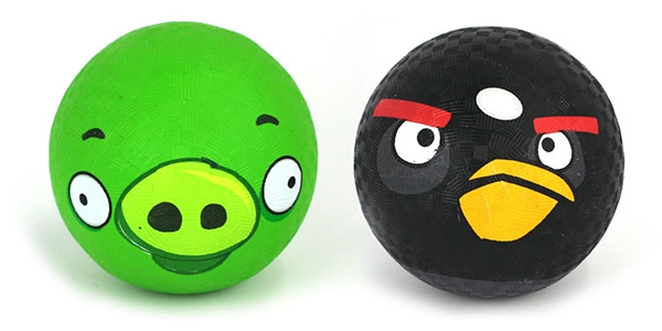 Angry Birds Dodge Balls