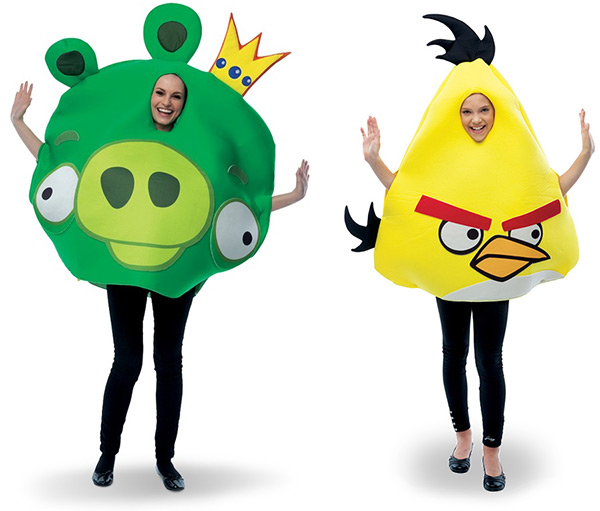 Angry Birds Halloween Costumes