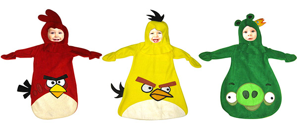 Angry Birds Infant Baby Bunting Costumes