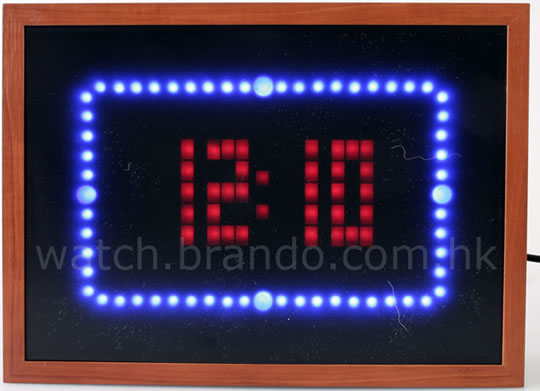Animated LED Clock