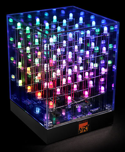 Animated LED Art Cube Light