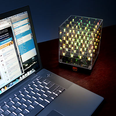 Animated LED Lights Art Cube