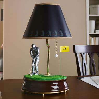 Animated Golf Lamp