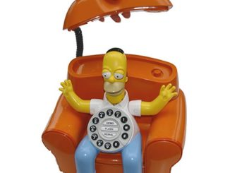 Animated Homer Simpson Phone