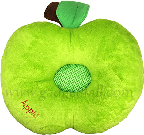 Green Apple Music Pillow