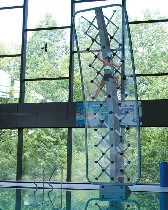 AquaClimb Sport Pool Climbing Wall