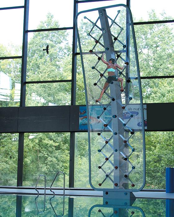 AquaClimb Sport Pool Climbing Wall