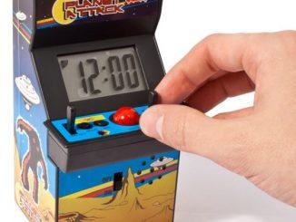 Arcade Game Alarm Clock