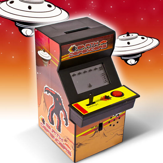 Arcade Game Piggy Bank