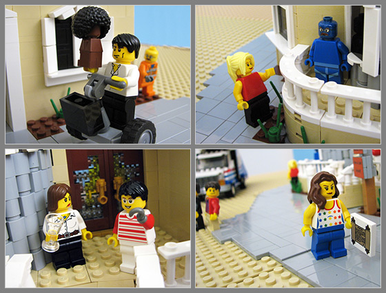 Arrested Development Lego Characters