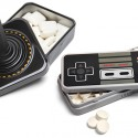 Atari Controller Gum and NES Controller Mints