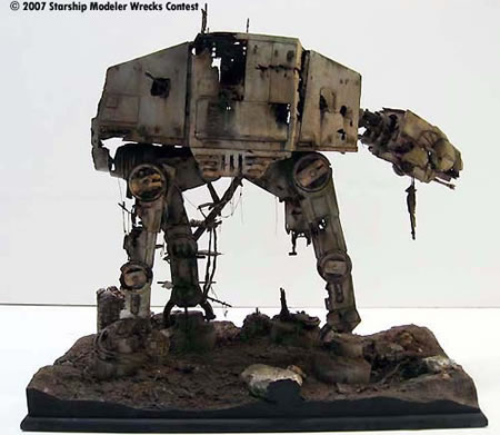 Abandoned AT-AT Walker