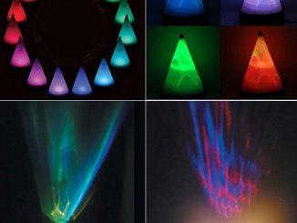 Colorful Aqua LED Projector
