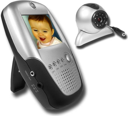 Baby Monitor with Wireless LCD Receiver & Cam