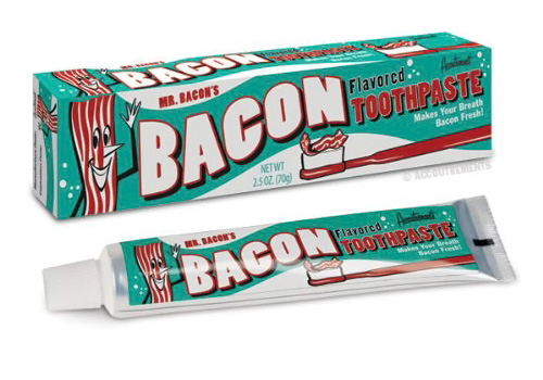 Bacon Toothpaste