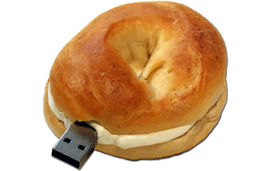 Bagel USB Flash Drive