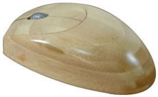 Eco Friendly Bamboo Optical Mouse