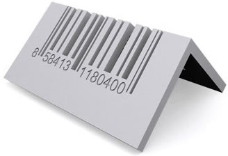 Barcode CD Holder