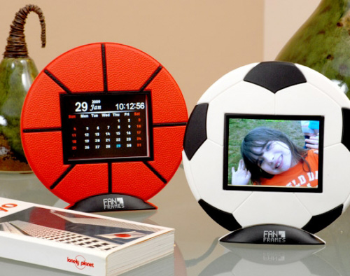 Basketball Digital Picture Frame Calendar