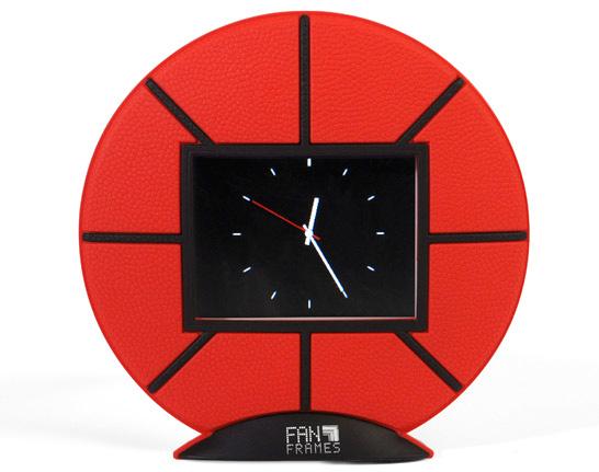 Basketball Digital Picture Frame Clock