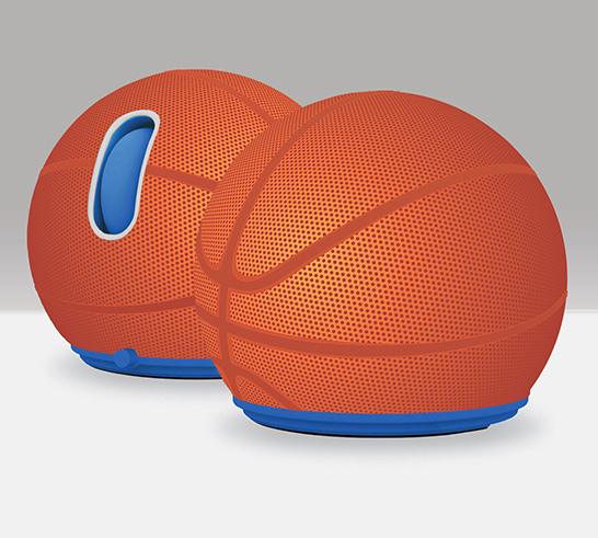 Jelfin Basketball USB Mouse
