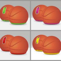 Basketball Computer Mice