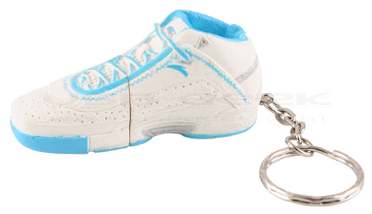 USB Basketball Shoe Flash Drive Keychain