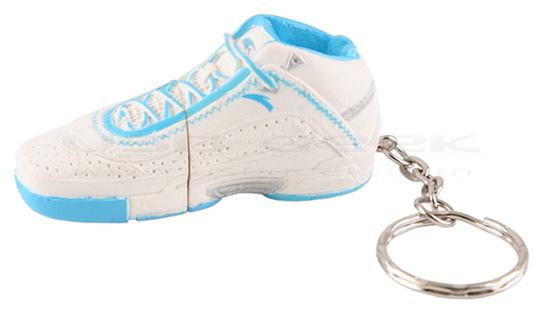 USB Basketball Shoe Flash Drive Keychain