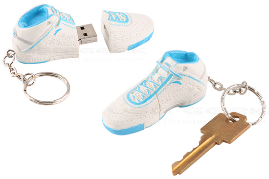 Basketball Shoe USB Flash Drive Keychain