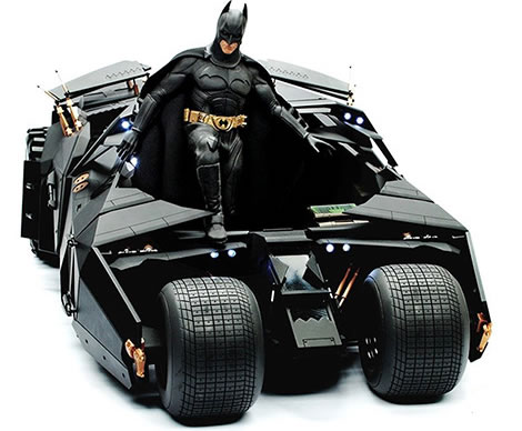 Batman: The Dark Knight - Batmobile