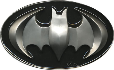 Raised Batman Belt Buckle
