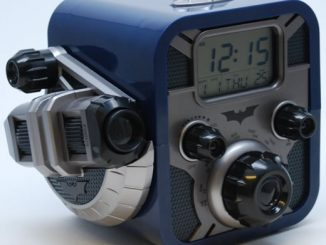 Batman Alarm Clock Radio with Bat-Signal