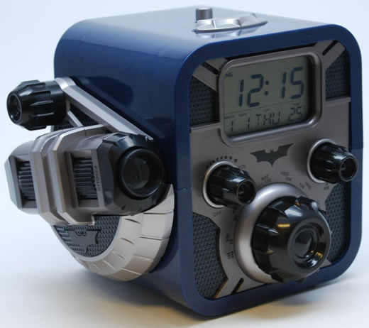 Batman Alarm Clock Radio With Bat Signal