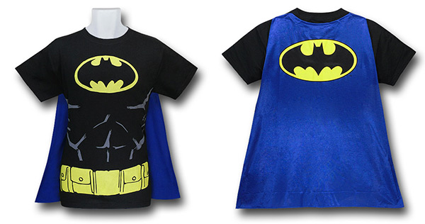Batman Cape Costume T-Shirt