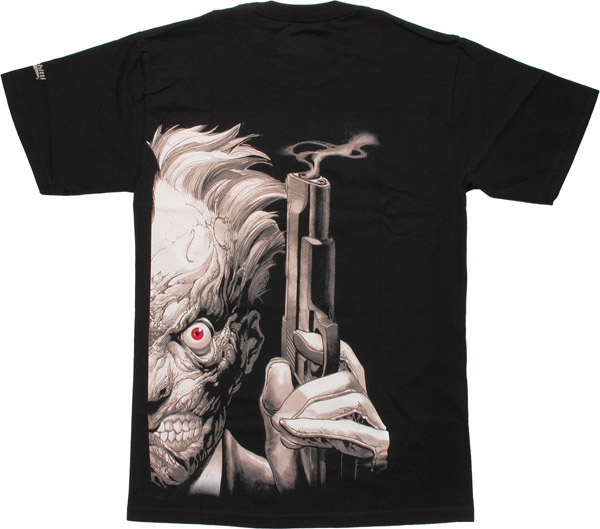 Batman Two Face T-Shirt Back