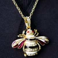 Bee USB Drive Necklace