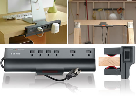 Clamp-On Surge Protector by Belkin