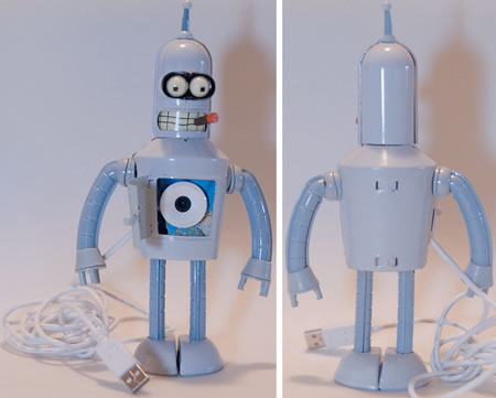Futurama Bender Webcam