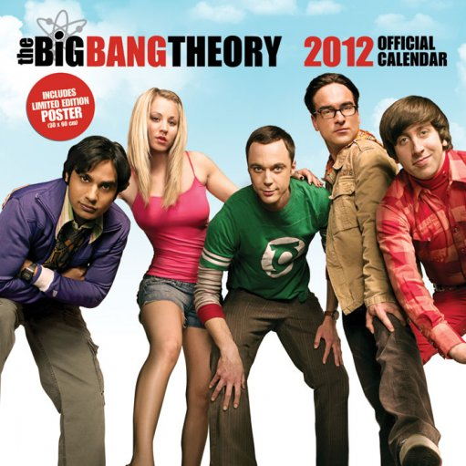 Big Bang Theory Calendar