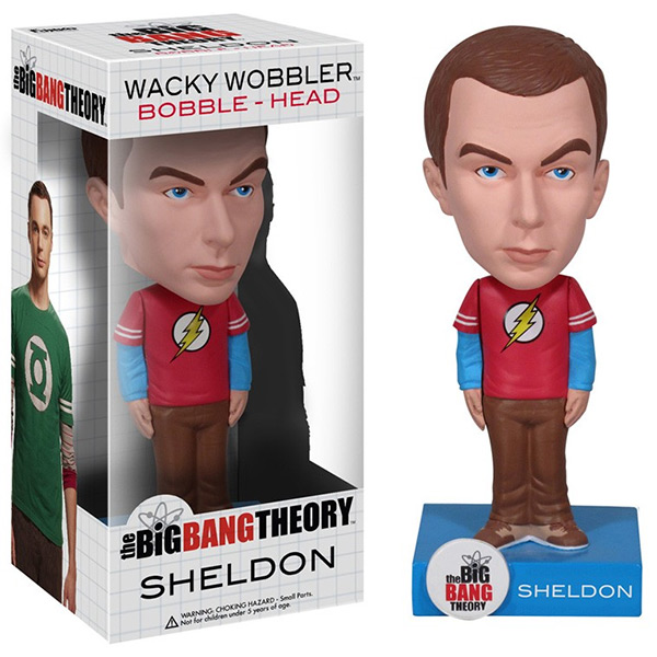 The Big Bang Theory Sheldon Bobblehead