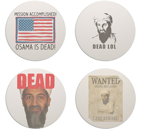 Bin Laden Drink Coasters