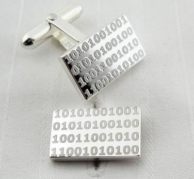 Binary Cufflinks
