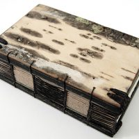 Handmade Birch Bark Journal