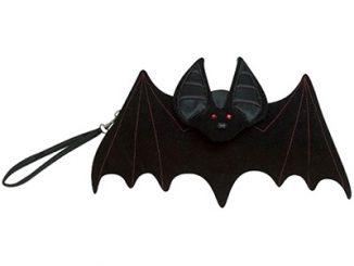 Black Bat Purse