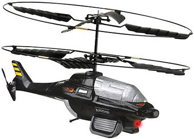 Black Ghost RC Helicopter