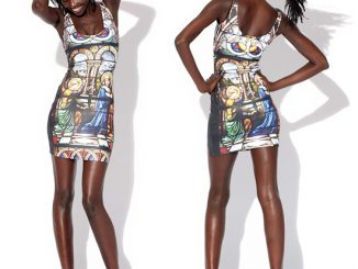 Black Milk Cathedral Dress