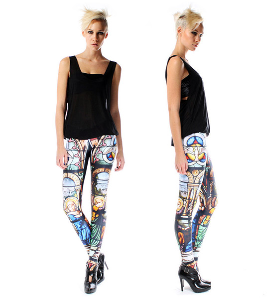 Black Milk Cathedral Leggings
